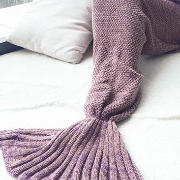 Mermaid Party Falbala Blanket Watch Gift