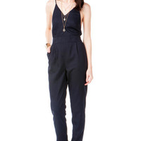 DROSIA OPEN BACK JUMPSUIT
