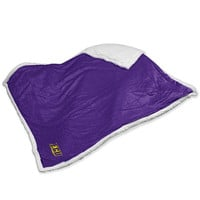 East Carolina Pirates NCAA  Soft Plush Sherpa Throw Blanket (50in x 60in)