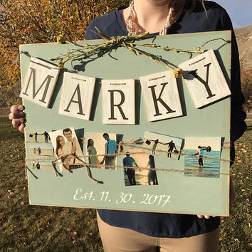 Welcome to out wedding sign, wedding welcome sign, rustic wood wedding sign, personalized wood wedding sign, custom wedding sign, wedding gi