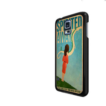 Spirited Away Retro Poster Samsung Galaxy S3 S4 S5 Cases