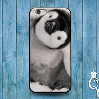 iPhone 4 4s 5 5s 5c 6 6s plus iPod Touch 4th 5th 6th Generation Cute Baby Penguin Head Face Phone Custom Cover Cute Animal Bird Funny Case