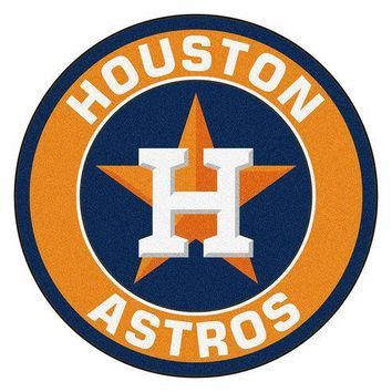 Houston Astros MLB Round Floor Mat (29)""