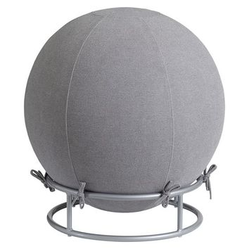 Exercise Ball Chair, Ball Char Highlands Grey