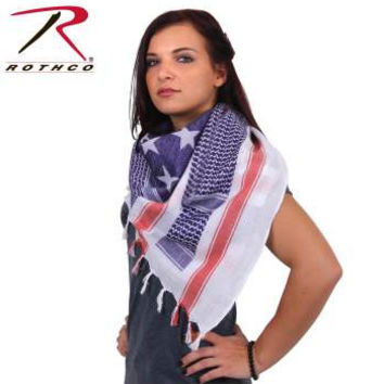 Stars and Stripes Shemagh Tactical Desert Scarf