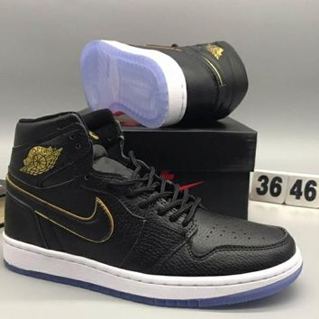 NIKE AIR JORDAN 1 RETRO fashion shoes L-CSXY