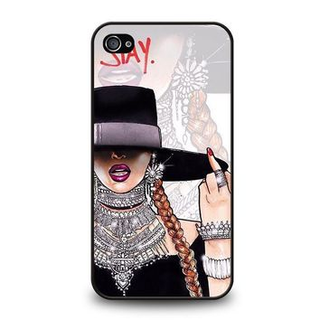 beyonce i slay iphone 4 4s case cover  number 1