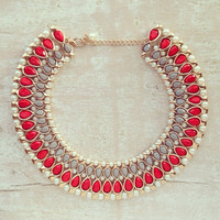 LADY AMBASSADOR COLLAR NECKLACE