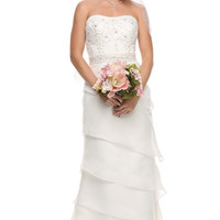 Strapless Wedding Dress JT316