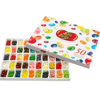 Jelly Belly 50 Flavors Jelly Beans Sampler: 21-Ounce Gift Box