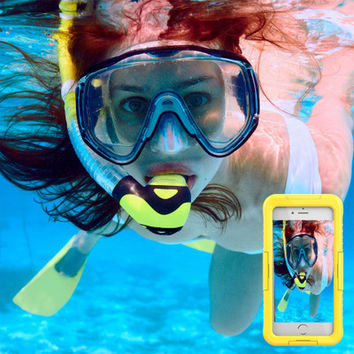 iphone 6s / 7 plus mobile phone waterproof shell anti-drop phone case
