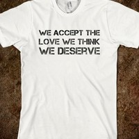 we accept the 