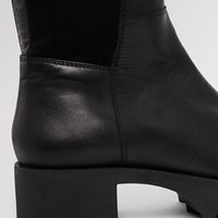ASOS KIDNAP Leather Over the Knee High Boots