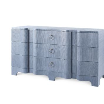 Bardot Extra Large 9 Drawer Navy Blue