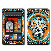 Day of Dead Sugar Skull Dia de los Muertos  Kindle viny wrap by ItsASkin