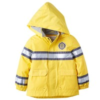 Carter's ''Rescue Division'' Fireman Hooded Rain Jacket - Boys
