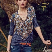 Jacaranda Top by Anthropologie
