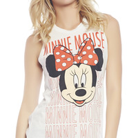 Minnie Mouse™ Laser Cut Tank | Wet Seal