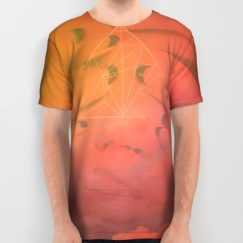Head in the Clouds All Over Print Shirt by DuckyB (Brandi)