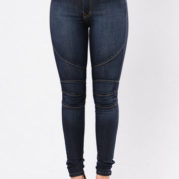Off The Beaten Path Jeans - Dark
