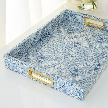 Printed Floral Tray - AERIN