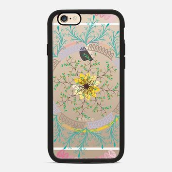 Seductive lace mandala colors iPhone 6 case by Famenxt | Casetify