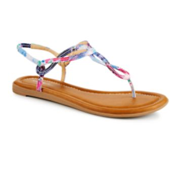 Xappeal Akia Women's ShoeFloral details add feminine fun to the Akia women's sandal from Xappeal. It's sure to be a sunny-day favorite with its timeless silhouette and cheery, colorful accents. (MULTICOLOR)