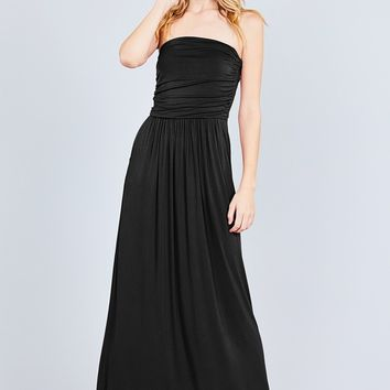 Only Love Maxi Dress - Black