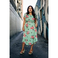 Lilly Lane Dress: Mint - FINAL SALE