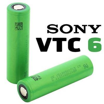 Sony VTC6 18650 3000mAh Batteries (2 Pc)