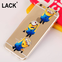 Newest Yellow Minions For iphone 6 Case Fashion Despicable Me Cute Phone Cases Cover Capa Coque Para For Apple iPhone6 6S 6 Plus