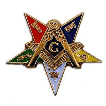 The Masonic Exchange Masonic Order of the Eastern Star Patron Lapel Pin  1quot Tall