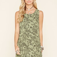 Paisley Print Shift Dress | Forever 21 - 2000204377