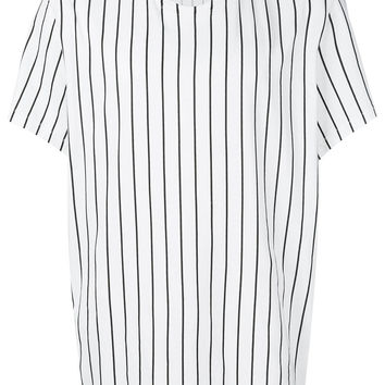 Haider Ackermann Striped round-neck T-shirt - Farfetch