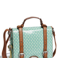 Fossil 'Key-Per' Coated Canvas Shoulder Bag | Nordstrom