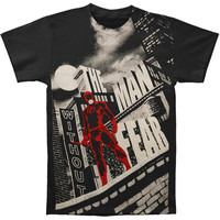 Daredevil Men's  Without Fear Subway T-shirt Black