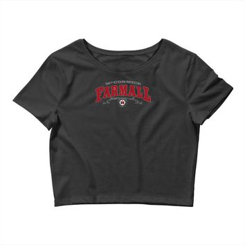 farmall western international harvester ih Crop Top