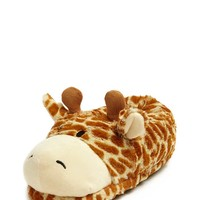 Giraffe Indoor Slippers - Shop By Price - Gifts Under $20 - 2000196673 - Forever 21 Canada English