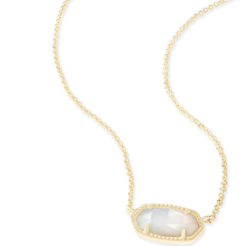 Kendra Scott - Elisa Necklace Gold with Ivory Mother of Pearl