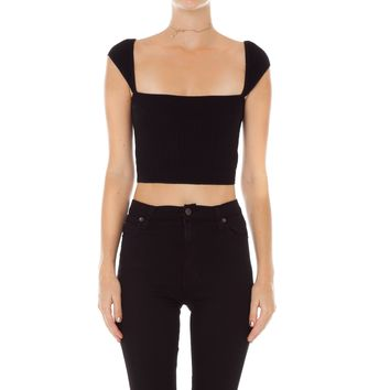 Anke Cap Sleeve Top