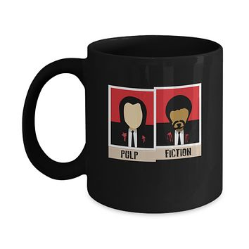 Pulp Fiction Polaroid Pictures Coffee Mug