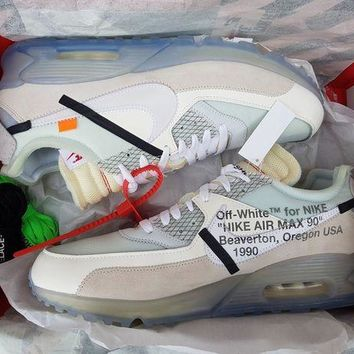 DCCKIN2 Nike x Off White Air Max 90 UK12 DS