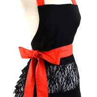 Women's Original Sultry Lace Flirty Apron