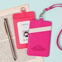 Slim Neck Strap Card Holder
