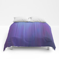 Violet Chromatic Comforters by duckyb