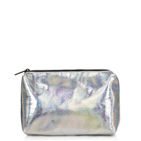 Metalic Snake Make Up Bag - Bags & Wallets - Bags & Accessories - Topshop USA