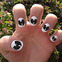 WuTang Clan // WuTang  // Nail Decals Transfer by SokayDesigns