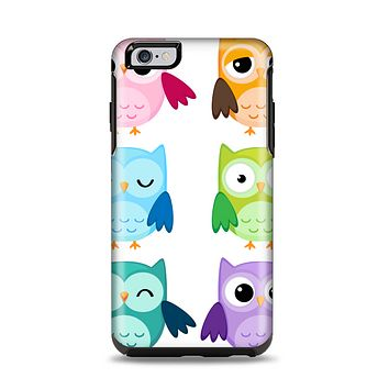 The Emotional Cartoon Owls Apple iPhone 6 Plus Otterbox Symmetry Case Skin Set