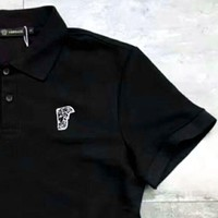 ONETOW VERSACE Polo Fashion Pure Cotton Embroider Logo Casual Tee Top G-YF-MLBKS