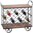 Beaujolais Wine Trolley - Home Bar & Wine Storage - Kitchen & Dining Room - Furniture | HomeDecorators.com